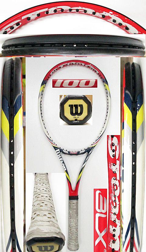 【中古 テニスラケット】 W1013 ウイルソン スチーム100(2012年モデル)