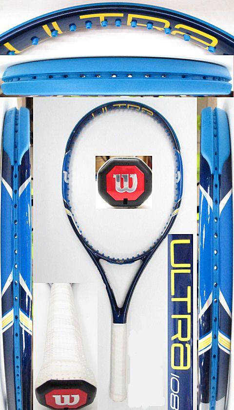 【中古 テニスラケット】W1022 ウイルソン ウルトラ108