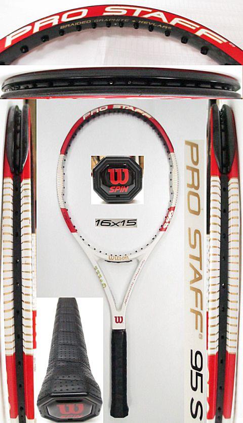 【中古 テニスラケット】W1023 ウイルソン プロスタッフ95S(2014年モデル)