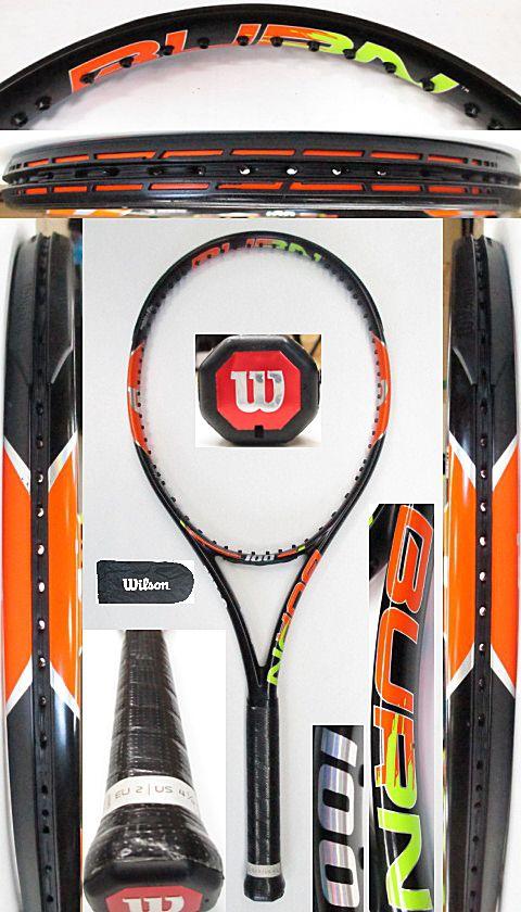 【中古 テニスラケット】W1026 ウイルソン バーン100