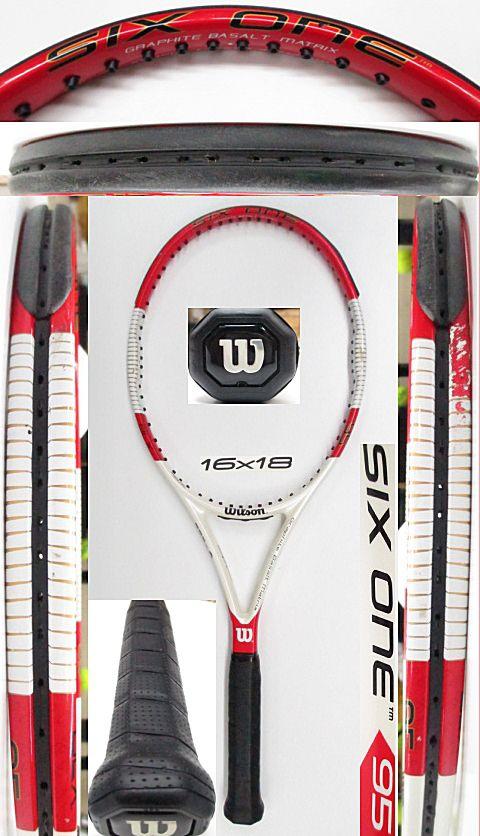 【中古 テニスラケット】W1031 ウイルソン SIX.ONE95(16×18)