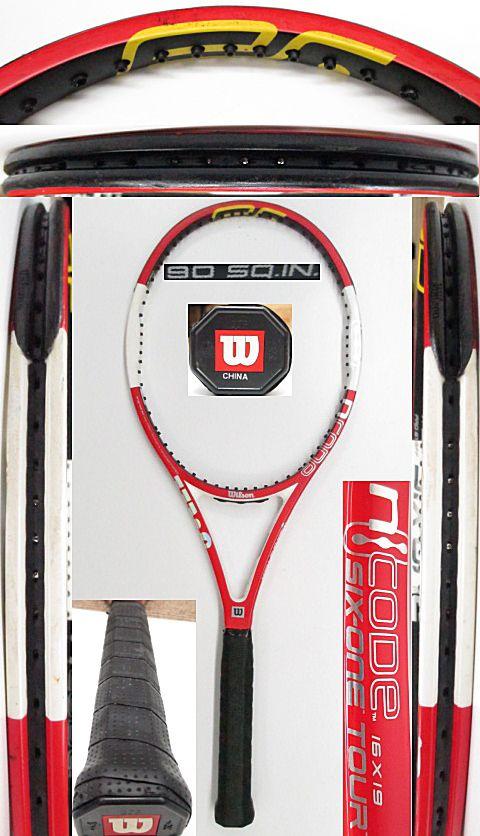 【中古 テニスラケット】W1033 ウイルソン nSIX-ONEツアー