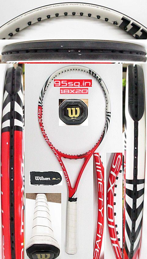 【中古 テニスラケット】W1035 ウイルソン SIX.ONE95(18×20)