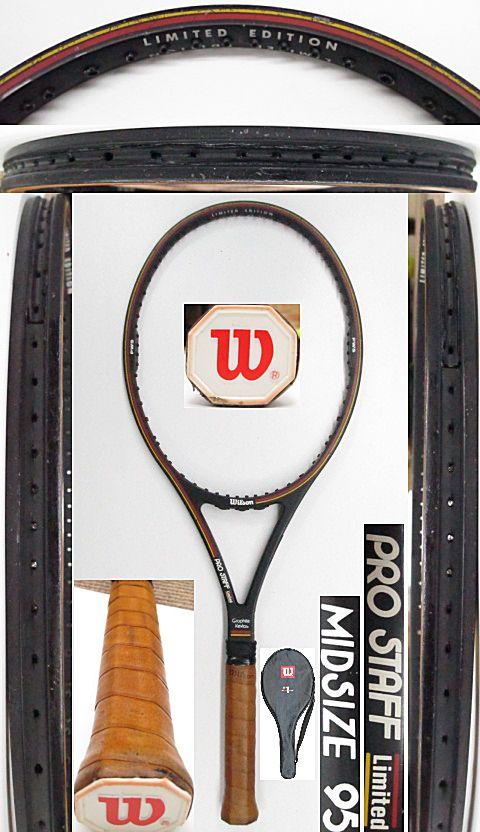 【中古 テニスラケット】W1036 ウイルソン プロスタッフリミテッド MIDSIZE