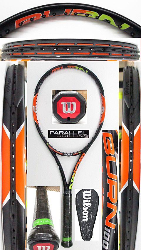 【中古 テニスラケット】W1037 ウイルソン バーン100