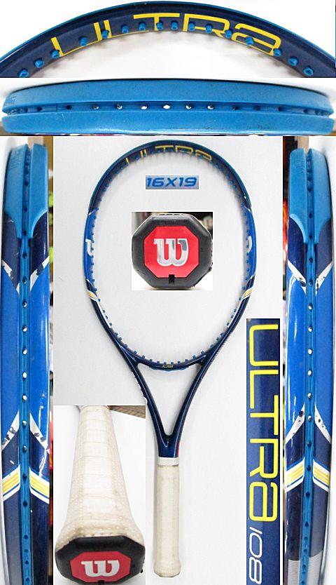 【中古 テニスラケット】W1045 ウイルソン ウルトラ108