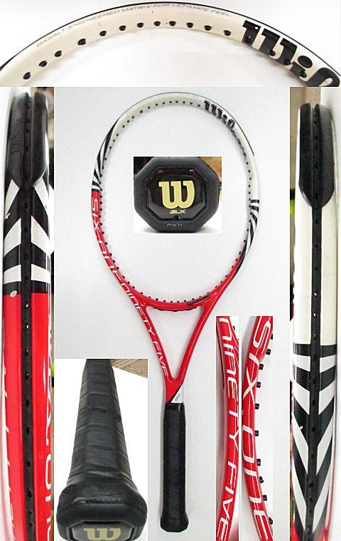 【中古 テニスラケット】W1047 ウイルソン SIX.ONE95
