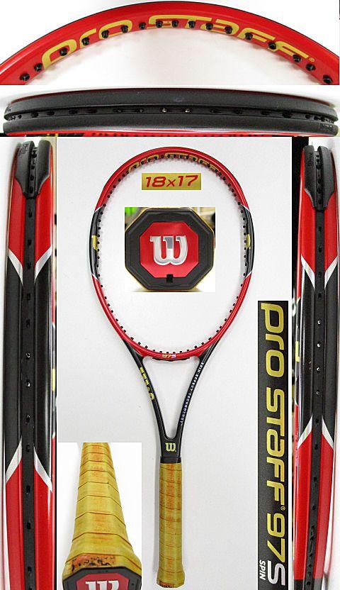 【中古 テニスラケット】W1049 ウイルソン プロスタッフ97S