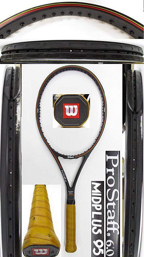 【中古 テニスラケット】W1051 ウイルソン プロスタッフ6.0 ミッドプラス95