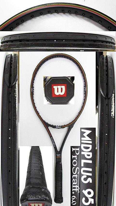 【中古 テニスラケット】W1052 ウイルソン プロスタッフ6.0 ミッドプラス95
