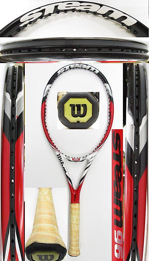 【中古 テニスラケット】W1055 ウイルソン スチーム96