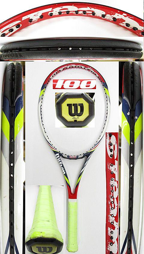 【中古 テニスラケット】W1056 ウイルソン スチーム100