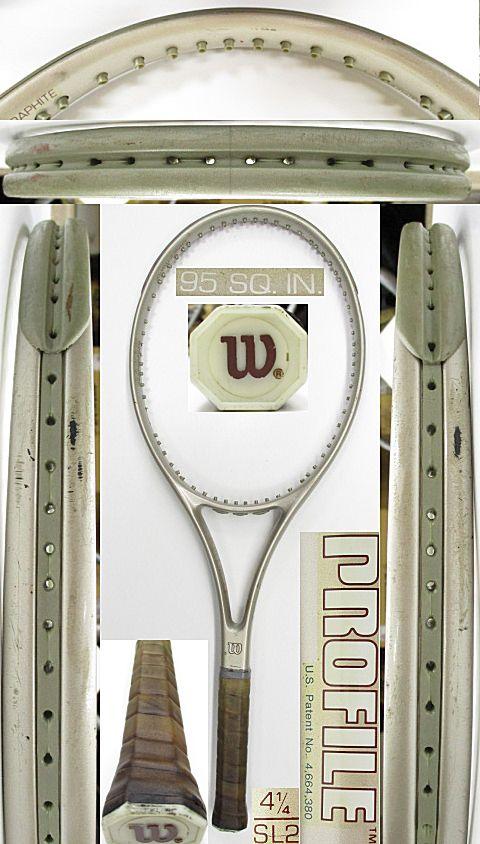 【中古 テニスラケット】W1057 ウイルソン プロファイル95