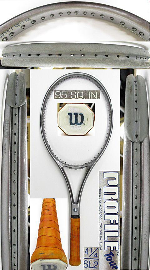 【中古 テニスラケット】W1058 ウイルソン プロファイル ツアー95