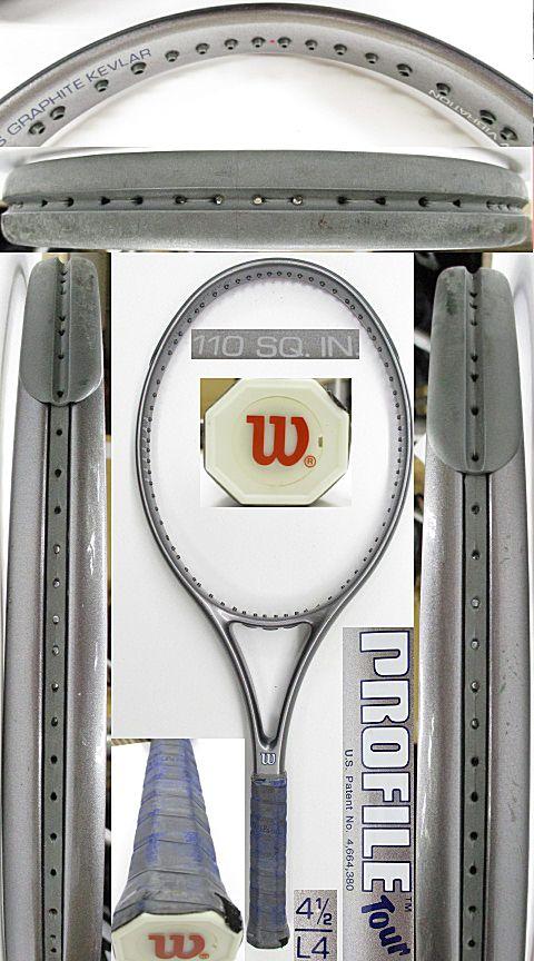 【中古 テニスラケット】W1059 ウイルソン プロファイル ツアー110