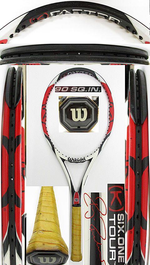 【中古 テニスラケット】W1060 ウイルソン [K]SIX-ONEツアー