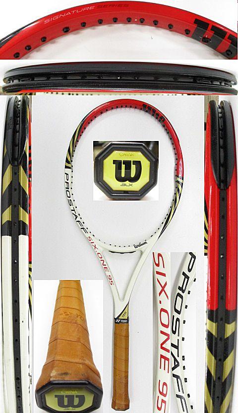 【中古 テニスラケット】W1064 ウイルソン プロスタッフ SIX.ONE95