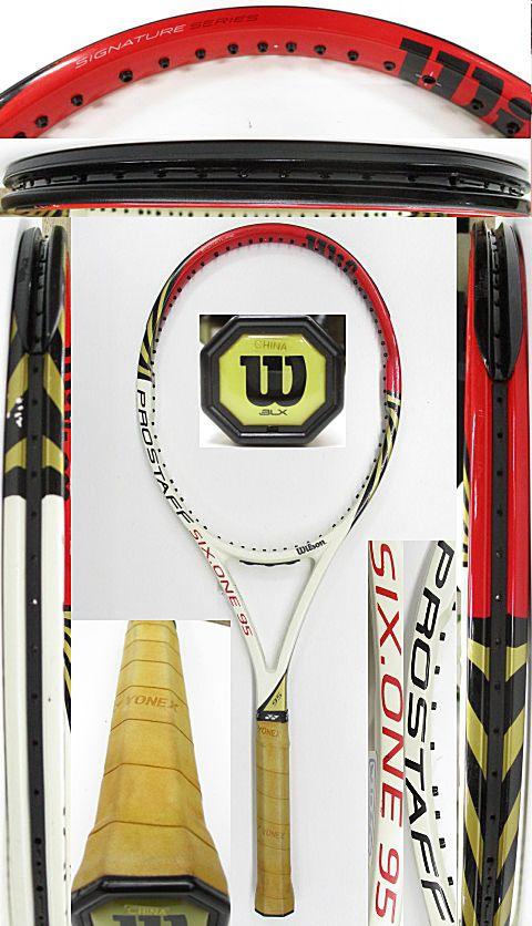 【中古 テニスラケット】W1065 ウイルソン プロスタッフ SIX.ONE95