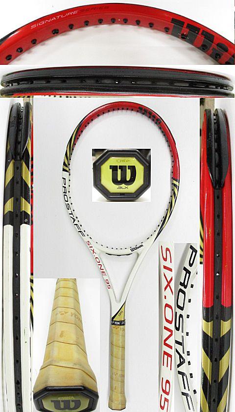 【中古 テニスラケット】W1066 ウイルソン プロスタッフ SIX.ONE95