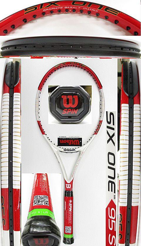 【中古 テニスラケット】W1067 ウイルソン  SIX.ONE95S