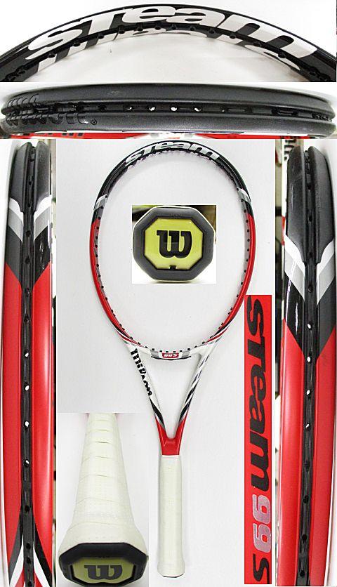 【中古 テニスラケット】W1068 ウイルソン  スチーム99S