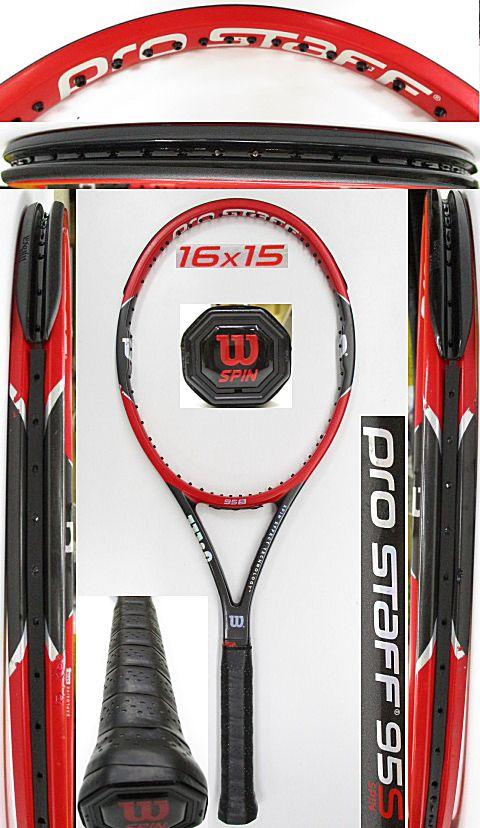 【中古 テニスラケット】W1074 ウイルソン プロスタッフ95S(2015年モデル)