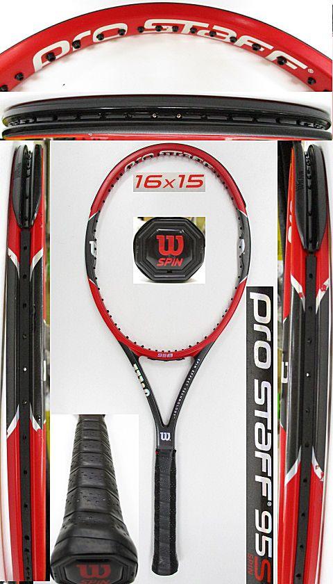 【中古 テニスラケット】W1075 ウイルソン プロスタッフ95S(2015年モデル)