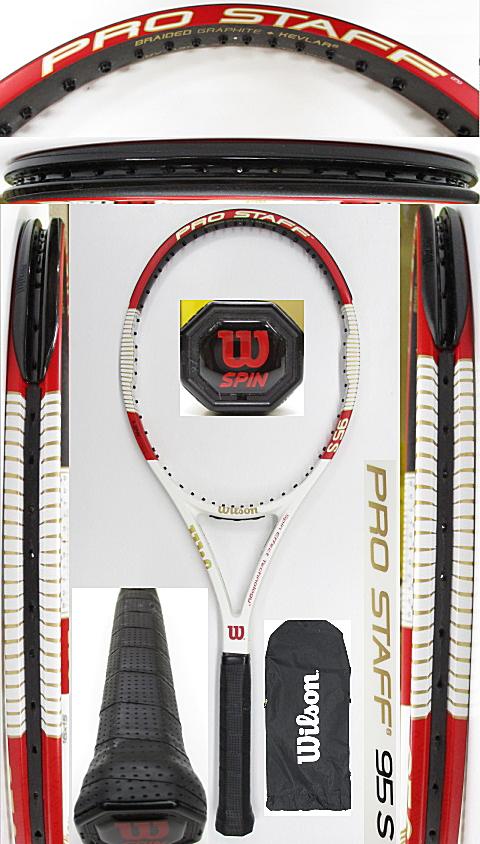 【中古 テニスラケット】W1077 ウイルソン プロスタッフ95S