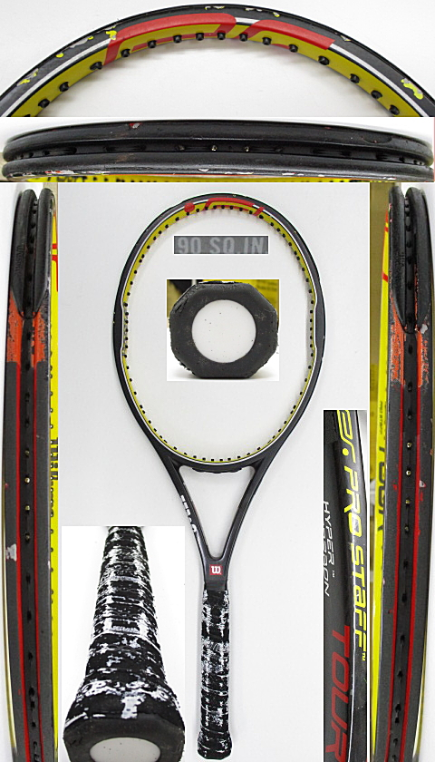 【中古 テニスラケット】W1078 ウイルソン プロスタッフツアー90