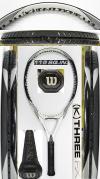 【中古テニスラケット】ウイルソン  [K]THREE FX115