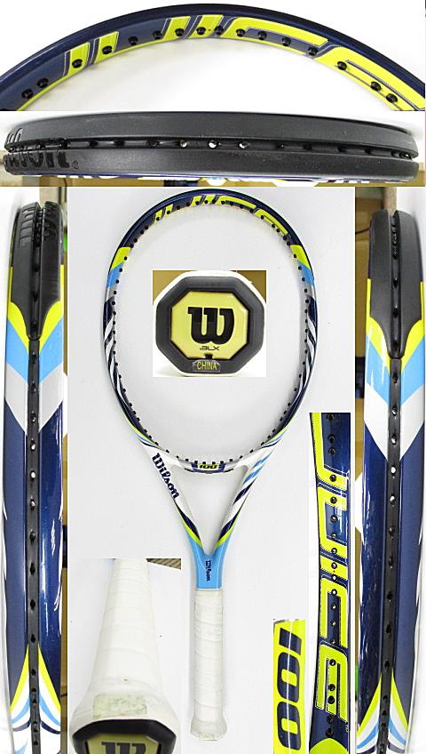 【中古 テニスラケット】W1082 ウイルソン ジュース100