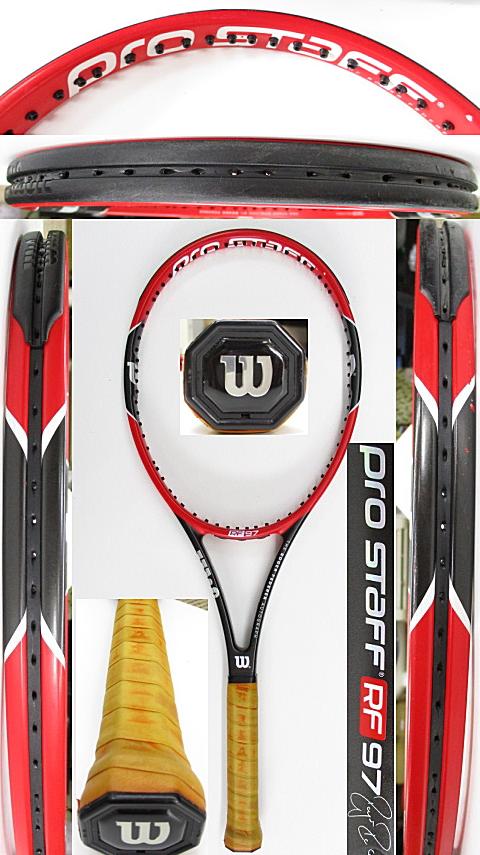 【中古 テニスラケット】W1087 ウイルソン プロスタッフRF97