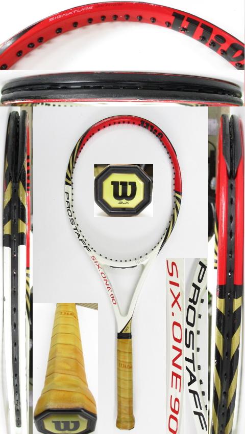 【中古 テニスラケット】W1088 ウイルソン プロスタッフ SIX.ONE90