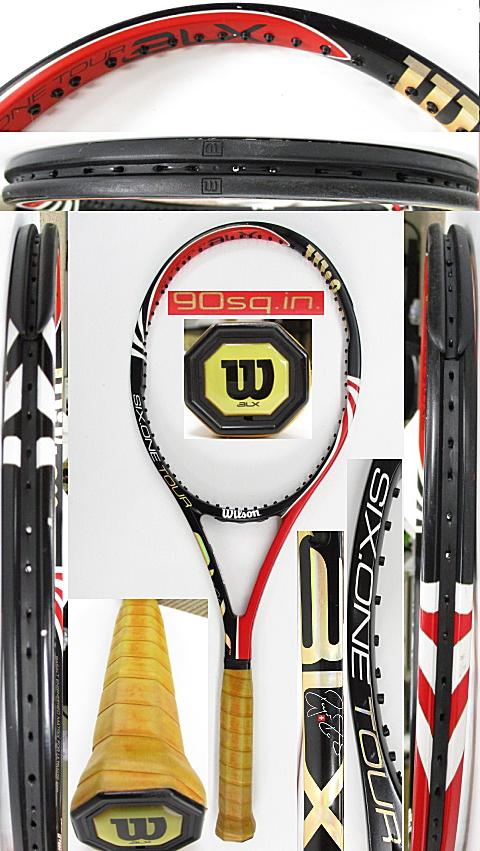【中古 テニスラケット】W1089 ウイルソン SIX.ONEツアーBLX90