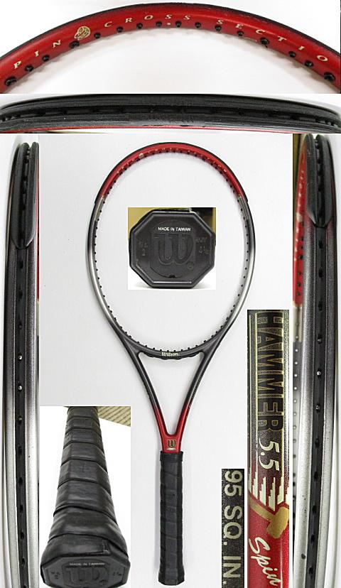 【中古 テニスラケット】W1091 ウイルソン ハンマー5.5スピン