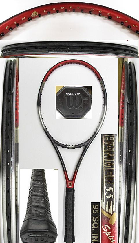 【中古 テニスラケット】W1093 ウイルソン ハンマー5.5スピン