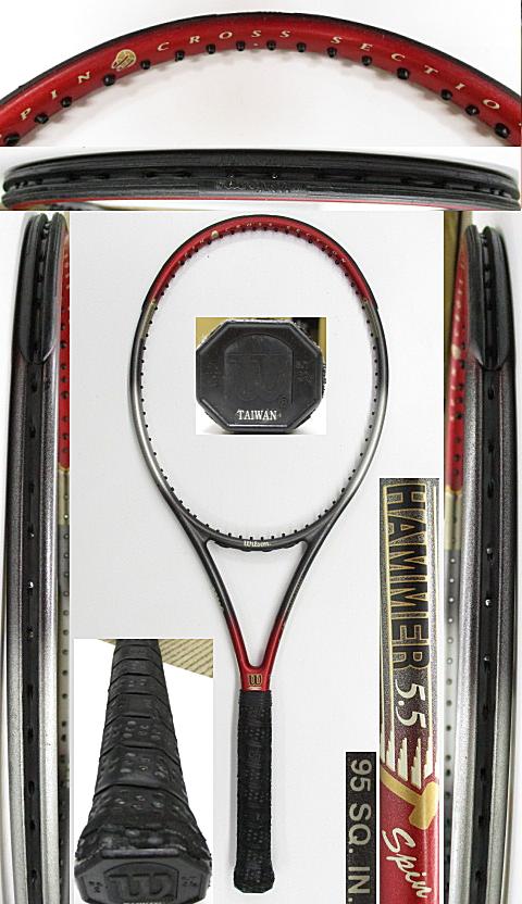 【中古 テニスラケット】W1094 ウイルソン ハンマー5.5スピン