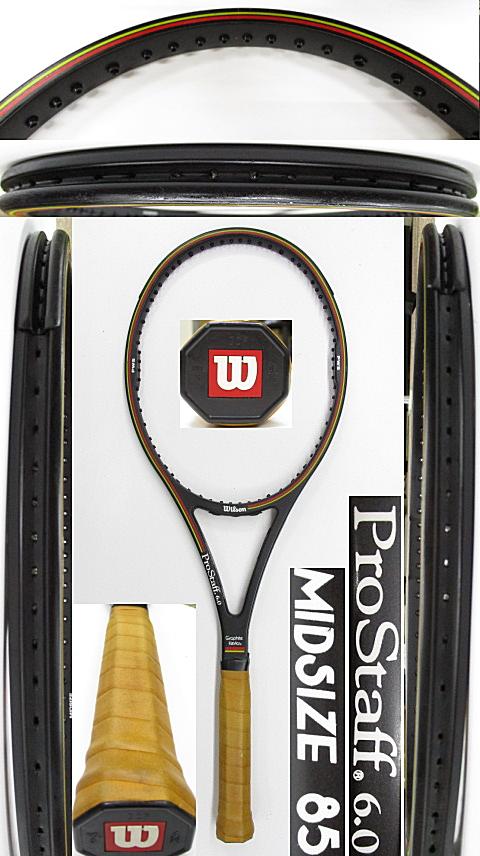 【中古 テニスラケット】W1099 ウイルソン プロスタッフ6.0 MIDSIZE85