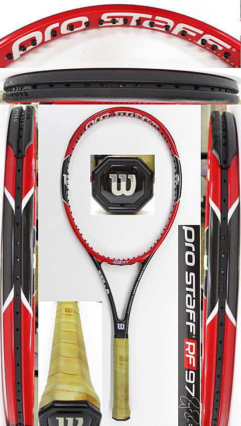 【中古 テニスラケット】W1102 ウイルソン プロスタッフRF97