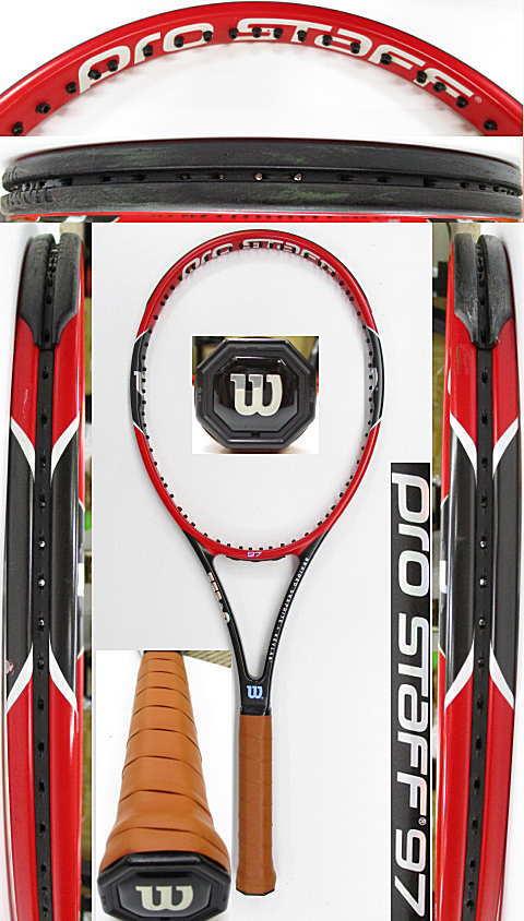 【中古 テニスラケット】W1103 ウイルソン プロスタッフ97
