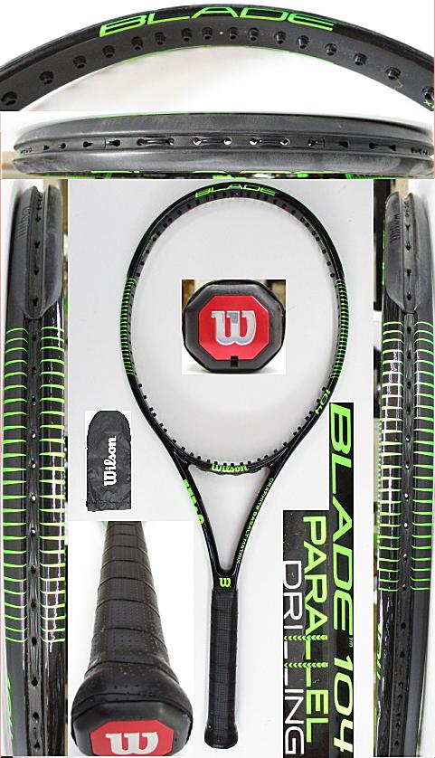 【中古 テニスラケット】W1104 ウイルソン ブレード104