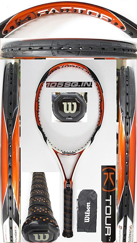 【中古 テニスラケット】W1105 ウイルソン [K]ツアー105