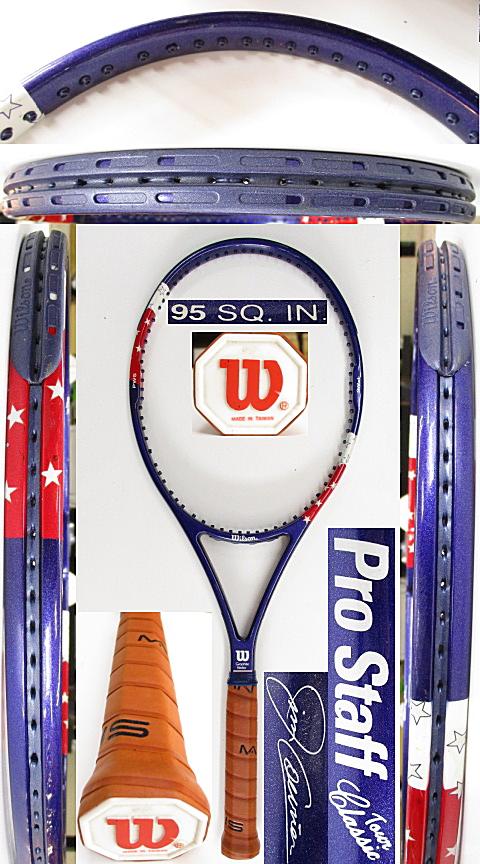 【中古 テニスラケット】W1106 ウイルソン プロスタッフ ツアークラシック95 ジム・クーリエ