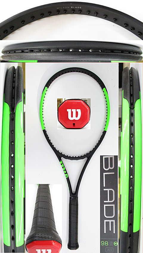 【中古 テニスラケット】W1108 ウイルソン ブレード98CV