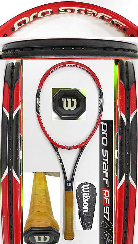 【中古 テニスラケット】W1109 ウイルソン プロスタッフRF97