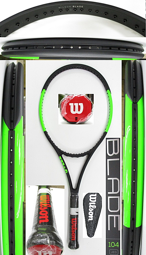 【中古 テニスラケット】W1112 ウイルソン ブレード104