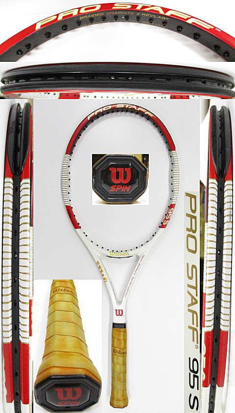 【中古 テニスラケット】W1113 ウイルソン プロスタッフ95S