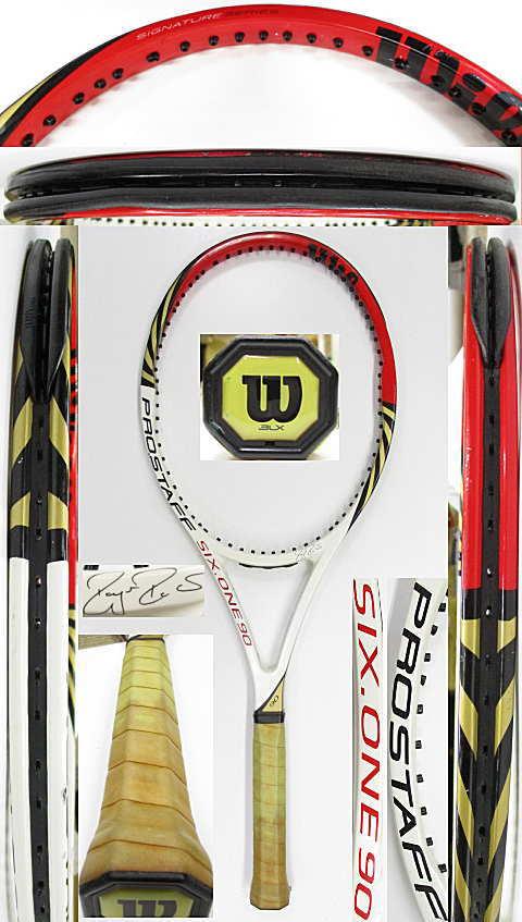 【中古 テニスラケット】W1114 ウイルソン プロスタッフ SIX.ONE90