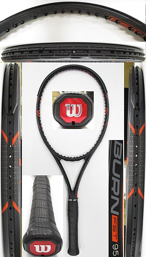 【中古 テニスラケット】W1116 ウイルソン バーンFST95
