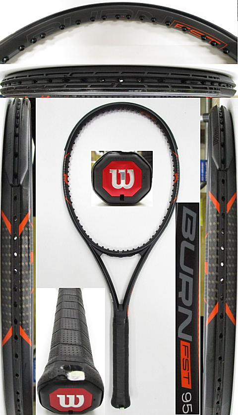 【中古 テニスラケット】W1117 ウイルソン バーンFST95